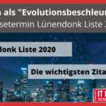 "Corona als ""Evolutionsbeschleuniger"" – Pressetermin Lünendonk Liste 2020"