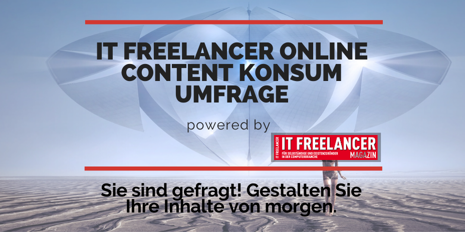 IT Freelancer Online Content Konsum Umfrage