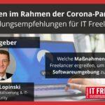 IT-Risiken im Rahmen der Corona-Pandemie: Handlungsempfehlungen für IT Freelancer