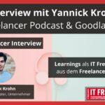 Interview mit Yannick Krohn- Freelancer Podcast- Erfahrungen