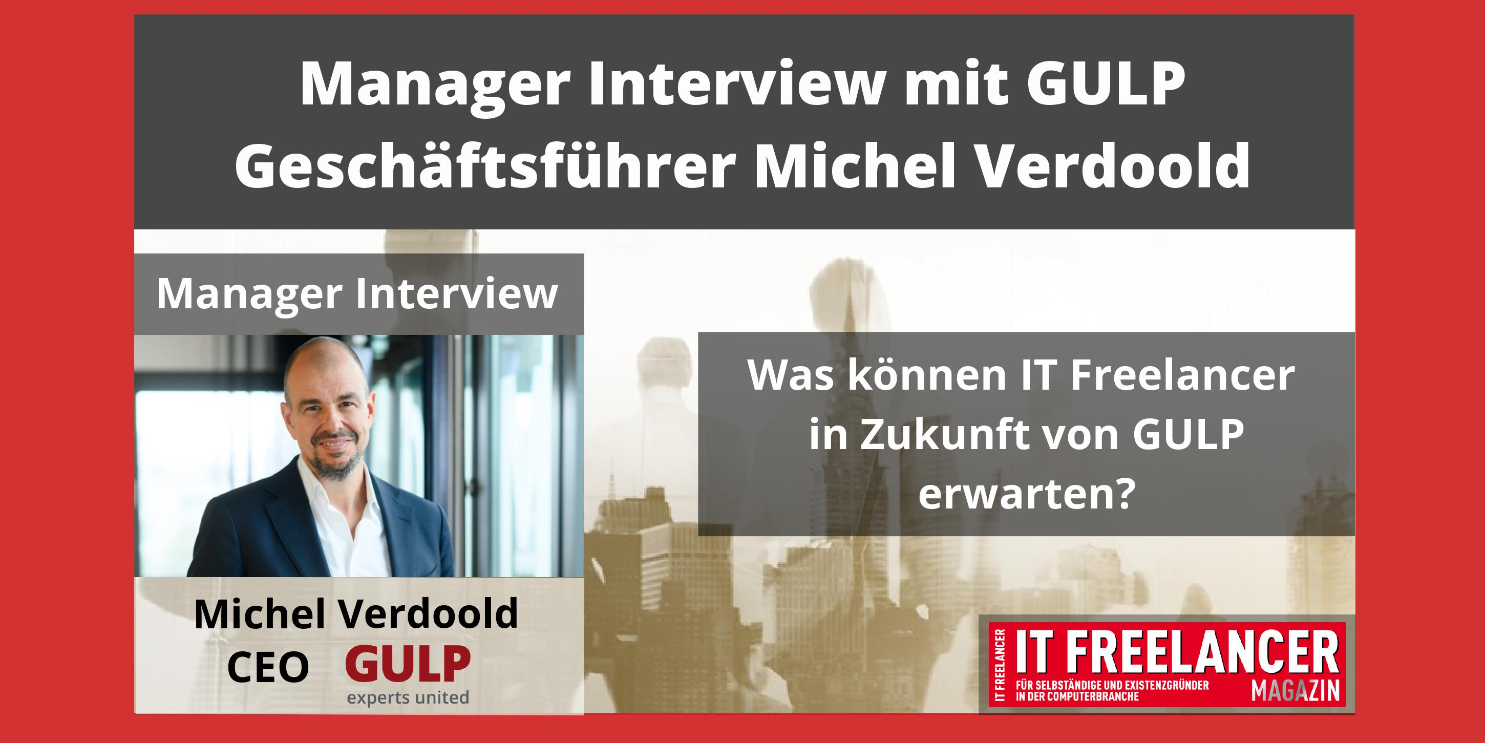 Interview mit GULP CEO Michel Verdoold