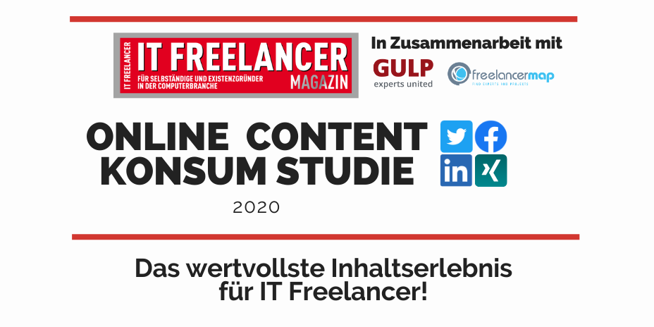 Online Content Konsum Studie IT Freelancer Magazin