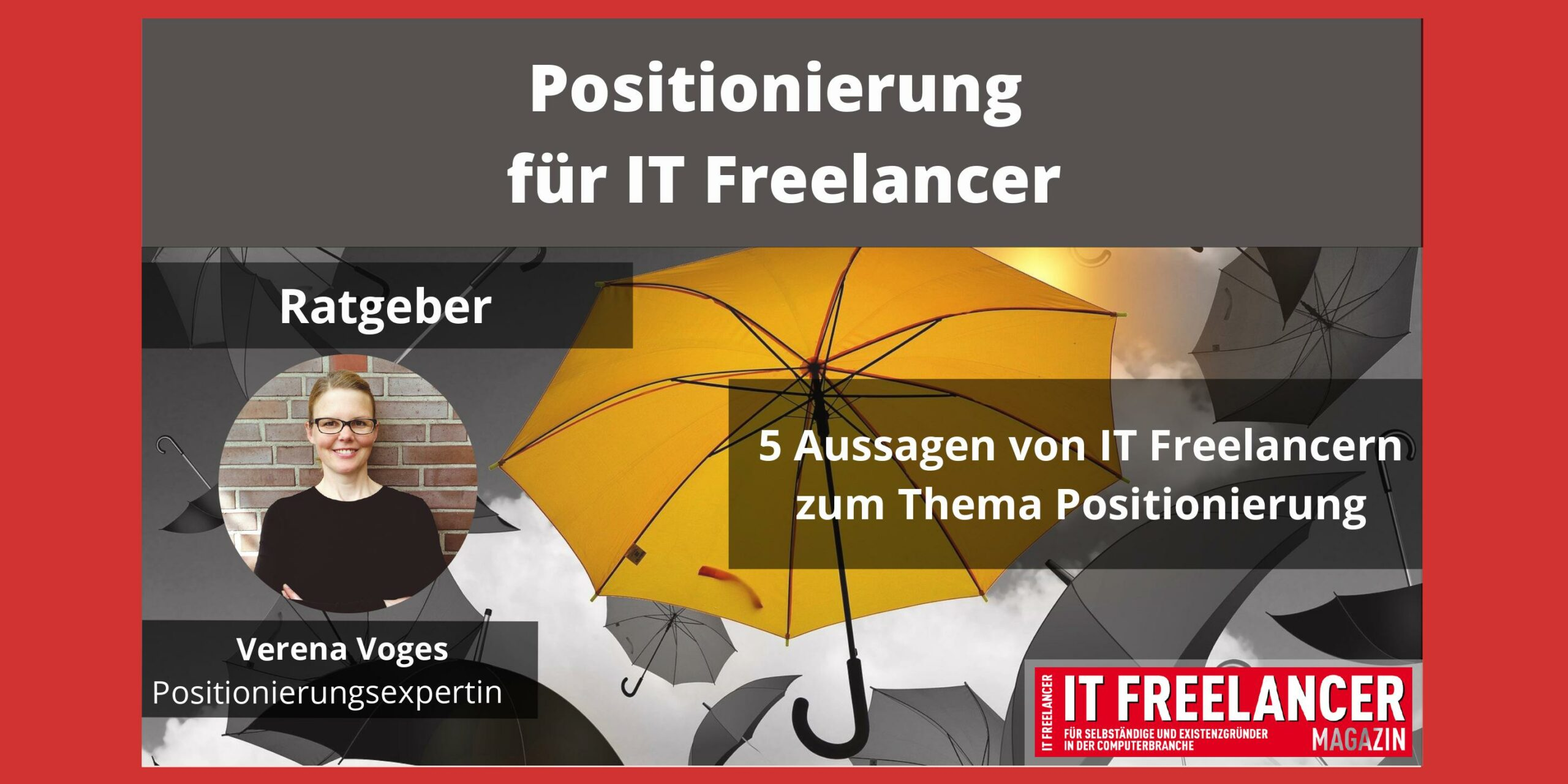 Positionierung für IT Freelancer