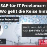 SAP für IT Freelancer - Wo geht die Reise hin?- Interview mit Marc Hofer
