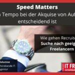 Speed Matters- Warum Tempo bei der Auftragsakquise entscheidend ist