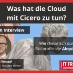 Profile, die funktionieren. Interview mit Andreas Wenzel