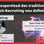 Wie expertlead das traditionelle Tech-Recruiting neu definiert